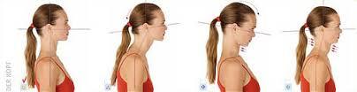 Kopfhaltungen schlecht bis richtig