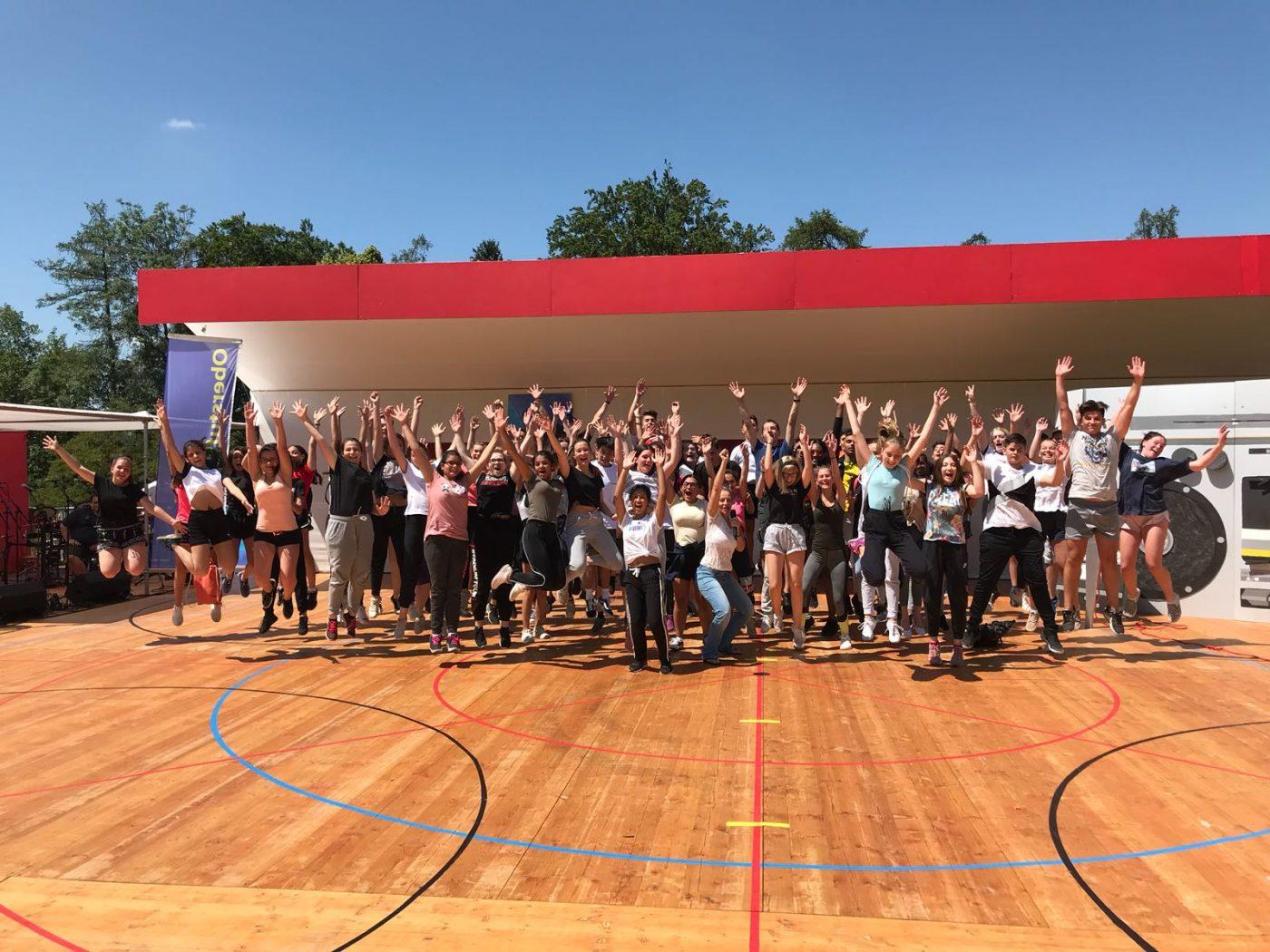 2018 Kinderfest SG Choreo con Tanzschule CPWorld Gossau SG