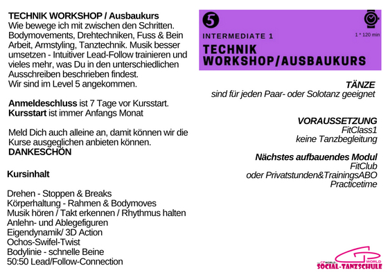 Module Technik workshop