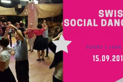1 Jahr Swiss Social Dance Night – Socialdancer Jubiläum