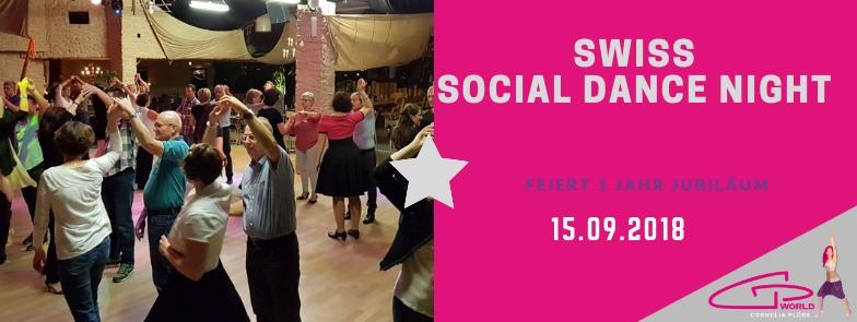 1 Jahr Swiss Social Dance Night – Socialdancer Jubiläum