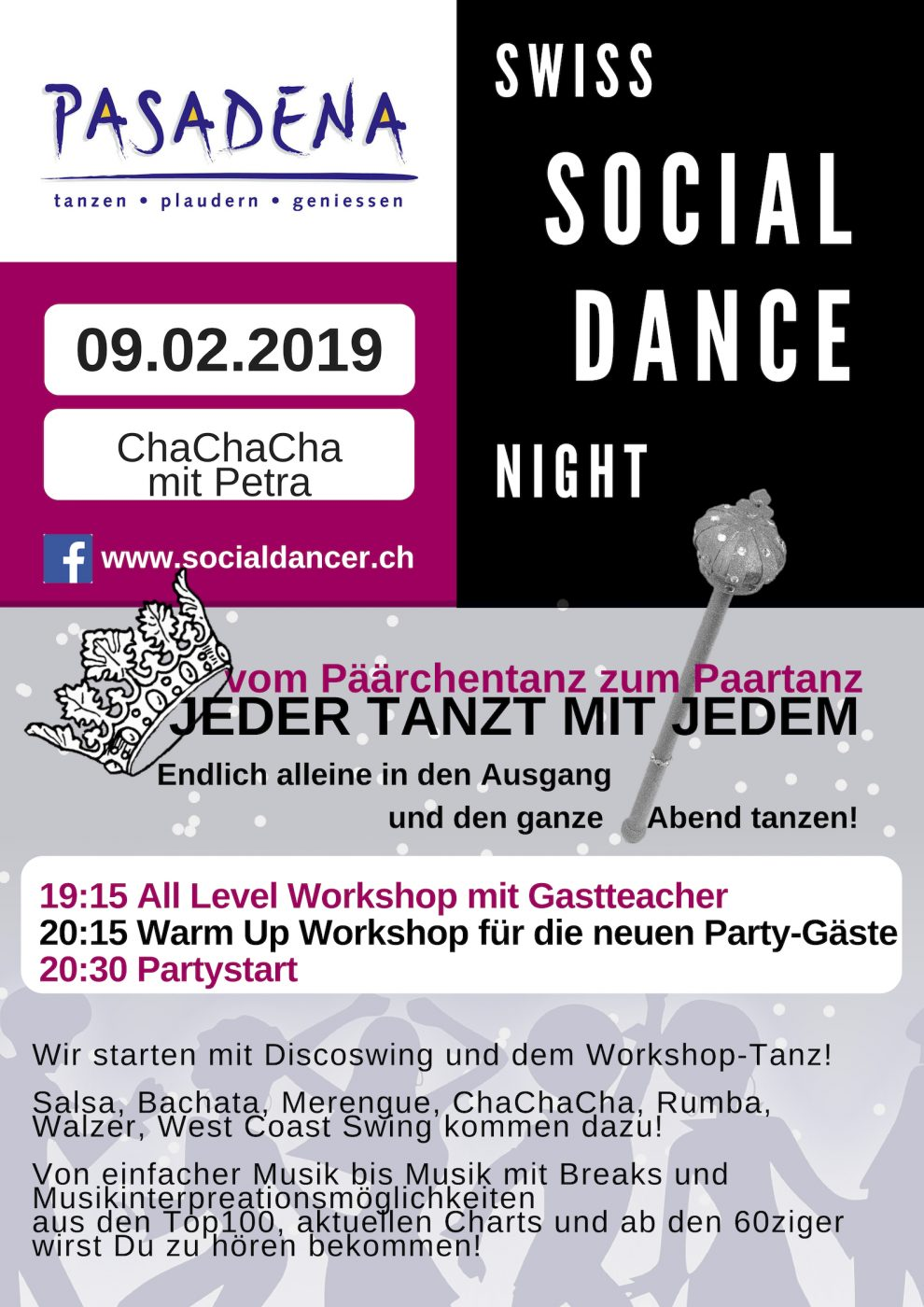 Swiss Social Dance Night