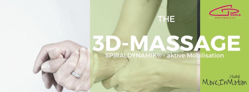 aktive 3D-Stretch-Massage Spiraldynamik - neues Körpergefühl